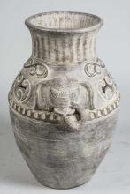 Indian Style Ceramic Vase