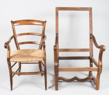 Continental Chair and Chair Frame