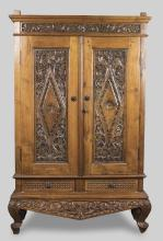 Continental Carved Wardrobe