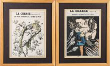 Pair of French Periodical Covers (19th Century)