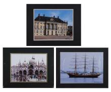 Group of Eleven Photos of European Cities