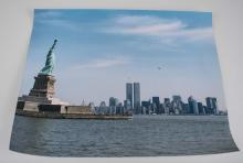 Photo of New York City Skyline, pre-2001 (20th C.)