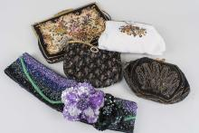 Group of Beaded Evening Purses