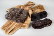 Group of Fur Articles