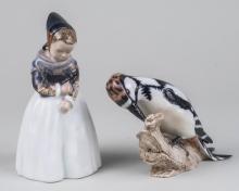 Two Royal Copenhagen Figures