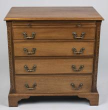 Georgian Style Fruitwood Chest of Drawers