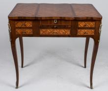 Louis XV Style Parquetry Poudreuse
