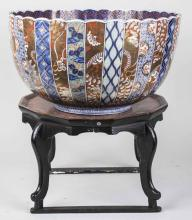 Imari Porcelain Center Bowl