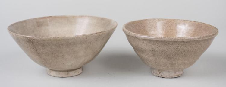 Two Korean Porcelain Bowls