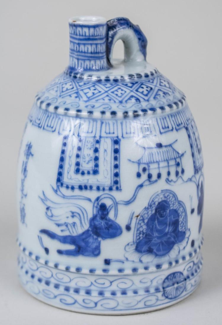 Korean Blue and White Porcelain Water Dropper