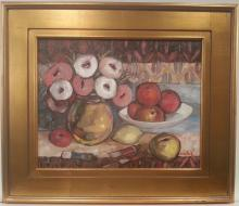 Mircea Lacatus Still Life with Apples