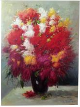 A.Pancheto Foral in Red