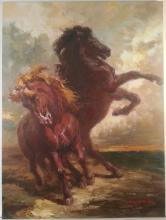 Horses by Sam Jusics