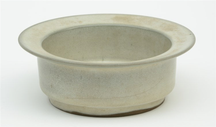 A Chinese celadon bowl, H 6,5 - Diameter 12 cm (crack in the bottom)