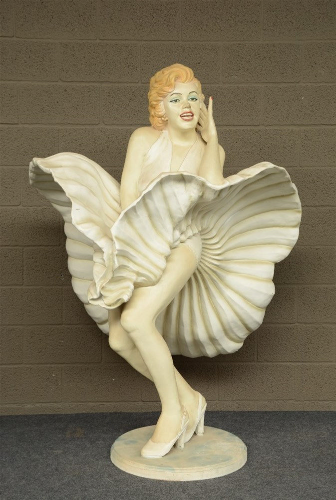 'Marylin', a plastic portrait of the Diva, H 123,5 cm