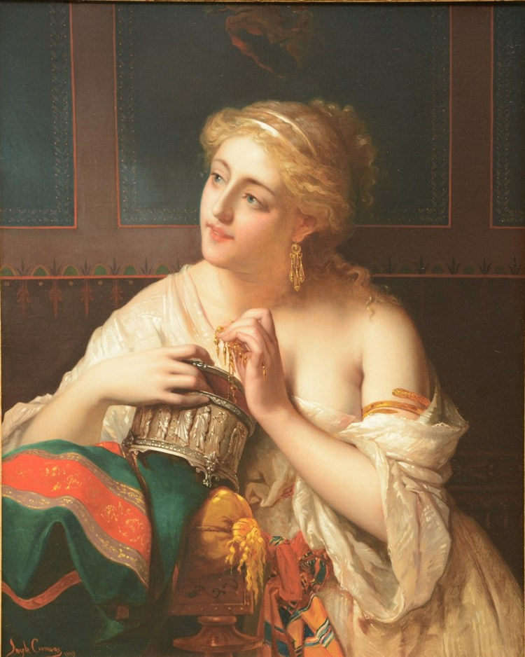 Coomans S., memories ..., oil on canvas, dated 1869, 65,5 x 81 cm