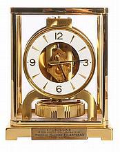 Pendulum Jaeger-LeCoultre Atmos Classic V, with dedication, H 22 cm