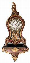 A cartel clock in Louis XV-style, Boulle marquetry and gilt bronze mounts, marked Kienzle, H 118,5 cm