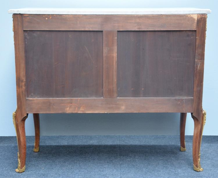A Transition Style Commode 39 Bois De Rose 39 And Marquetry Ven