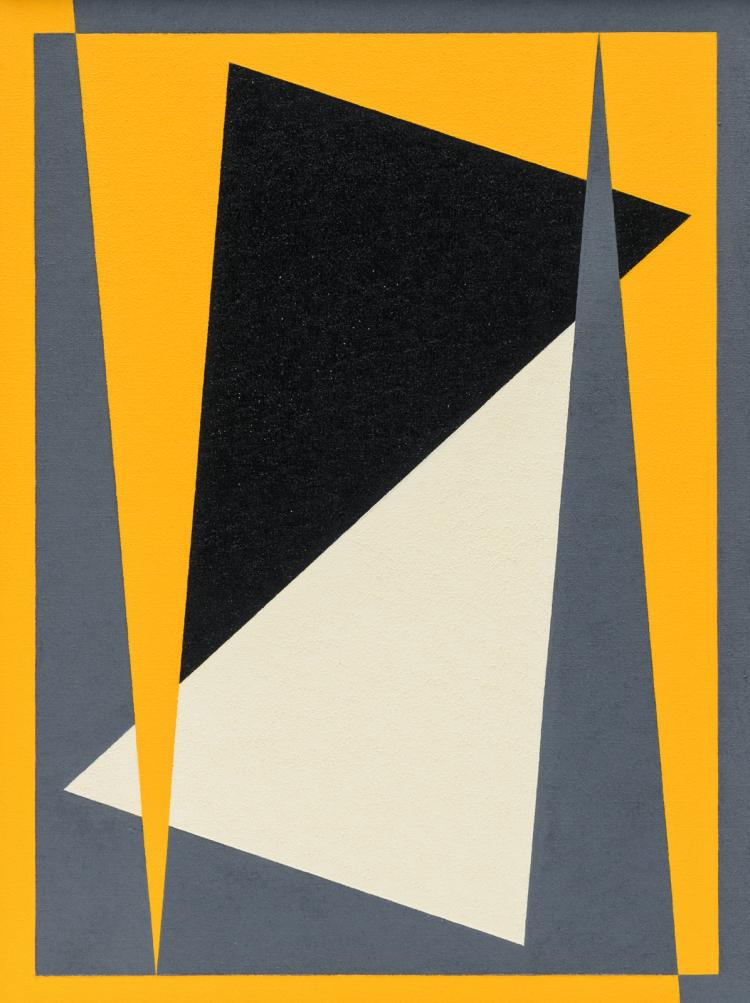 Deshommes F. (signed on the reverse), no title, oil on canvas, dated 1977, 30,5 x 40 cm