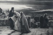 Schmalz H. (after), 'The return from calvary', photolithograph, published by Dowdeswells, London, 1892, 79 x 101,5 cm