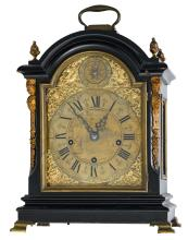 A late Victorian gilt bronze mounted 'Big Ben' bracket clock, second half of the 19thC, H 45 cm