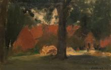 Slabbinck R., a rural view, oil on canvas, dated 1945, 54 x 81 cm