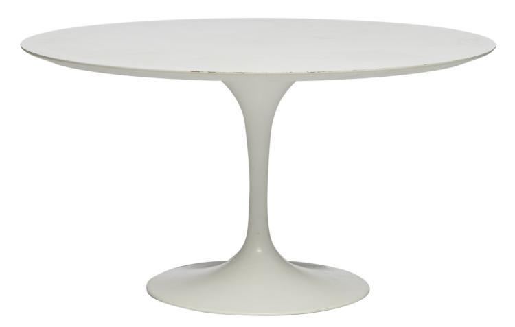 A round table type Knoll,H 74,5 - ø 136 cm