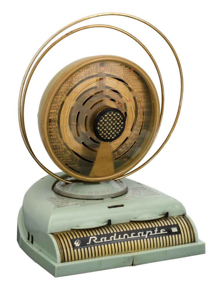 A 30s TSF Radiocapte Celard, Grenoble, H 41 - W 27,5 cm
