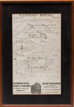Hotel Registration Page - Buffalo Bill
