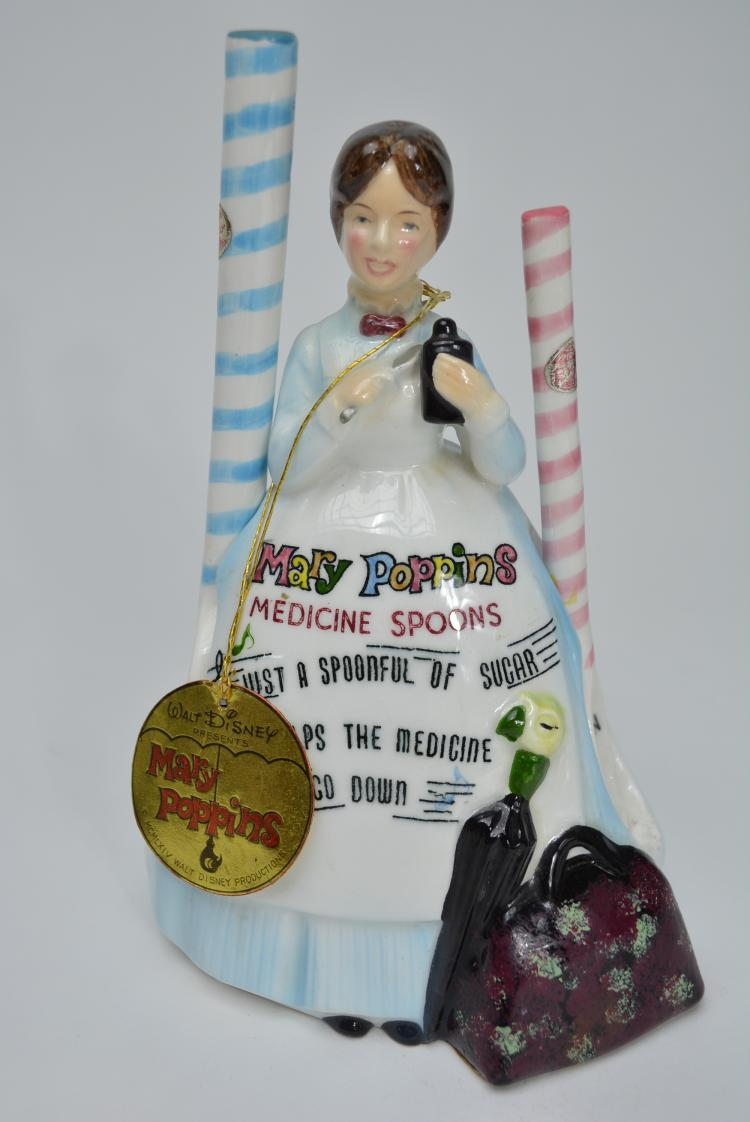 Toys For Mary Poppins : Disney s mary poppins piece spoon rest musical w foil sea