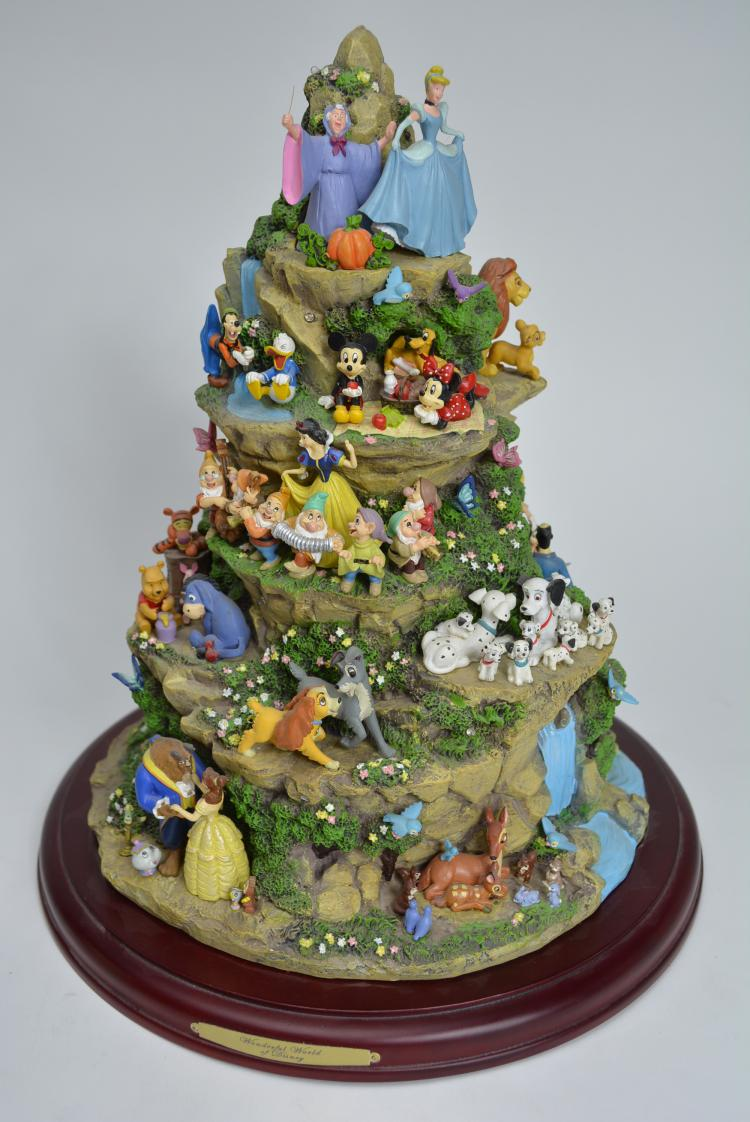 Wonderful World of Disney Tabletop Holiday Tree from The Bra