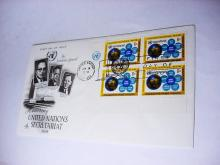 1968 UNITED NATIONS FIRST DAY COVER