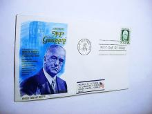 1973  HONORING  A.P. GIANNINI FIRST DAY COVER