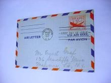 1947 AIRPOST FIRST DAY COVER