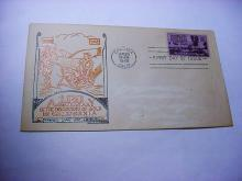 1948 CALIFORNIA GOLD RUSH FIRST DAY COVER