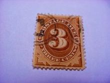 EARLY POSTAGE STAMP