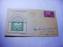 1937 VIRGIN ISLANDS GRANBY CACHET FIRST DAY COVER