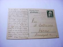 1913 BAVARIA, GERMANY FIRST DAY COVER