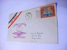 1929 FIRST FLIGHT AIRMAIL COVER