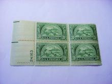 1950 AMERICAN BANKERS PLATE BLOCK