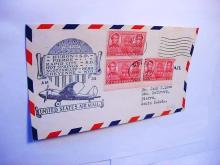 1938 FIRST FLIGHT AIRMAIL COVER