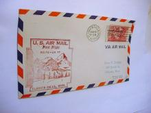 1953 FIRST FLIGHT AIRMAIL COVER