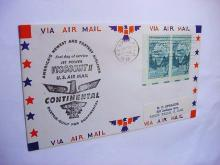 1958 CONTINENTAL JET AIRMAIL COVER