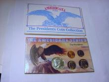 THE PRESIDENTS COIN SET