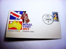 1977 ROYAL VISIT TO AUSTRALIA COVER