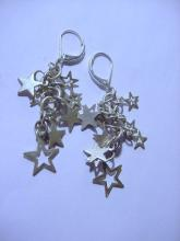 VINTAGE DANGLE STARS EARRINGS
