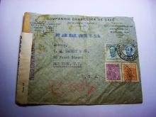 1943 BRAZIL EXAMINED COVER