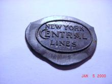 NEW YORK CENTRAL LINES MEDAL DIE TRIAL