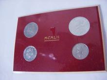 1952 VATICAN COIN SET GEM B.U.